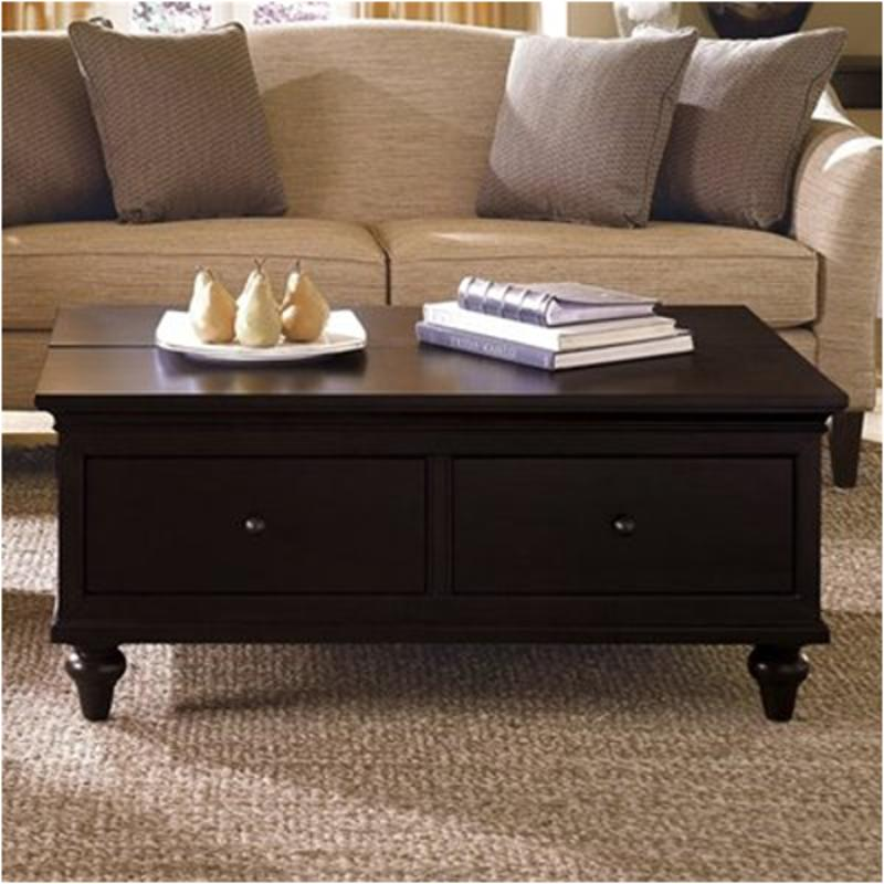 46 024 Kincaid Furniture Somerset Storage Cocktail Table