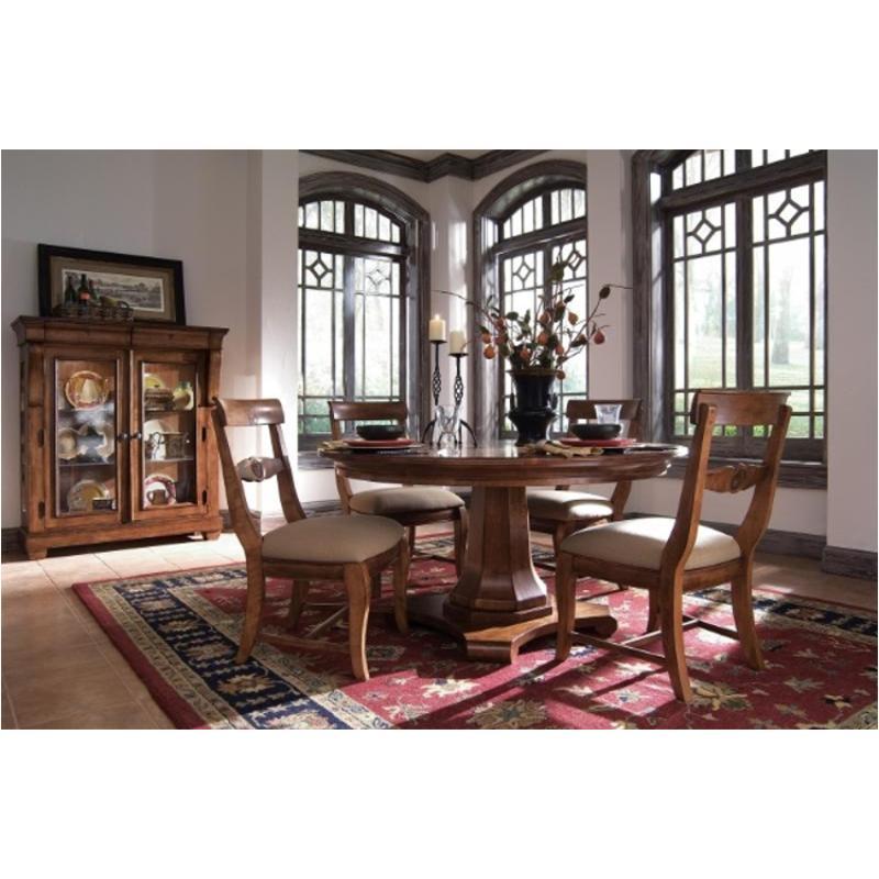 96 002v Kincaid Furniture Tuscano Round Pedestal Table Base