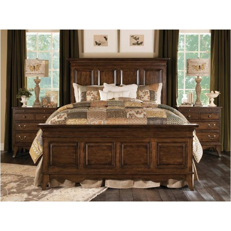 Walnut Queen Panel Bed, Walnut Queen Bed Set