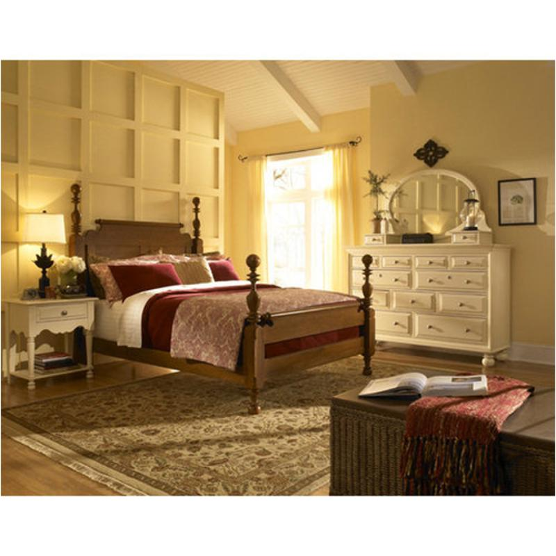 68 130h Kincaid Furniture Queen Cannonball Poster Bed Stain