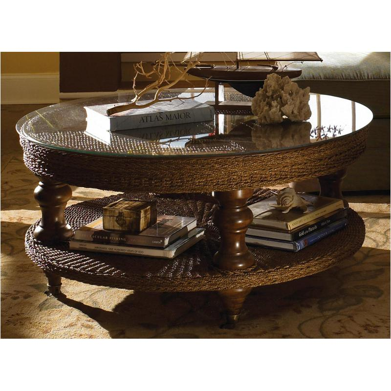 68 026 Kincaid Furniture Round Seagrass Cocktail Table
