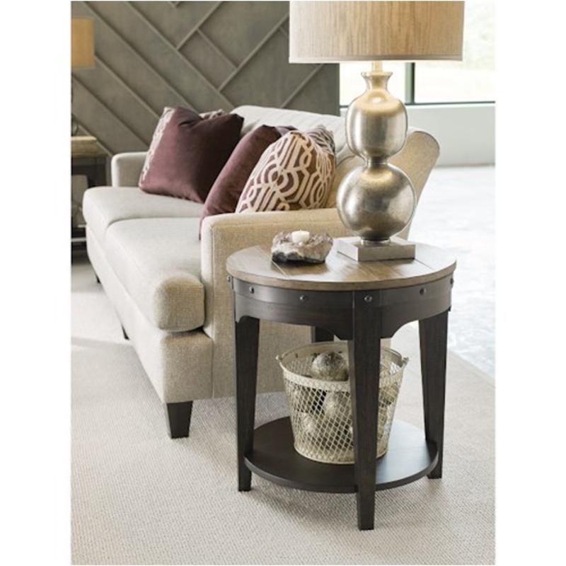 706 920c Kincaid Furniture Plank Road Artisans Round End Table