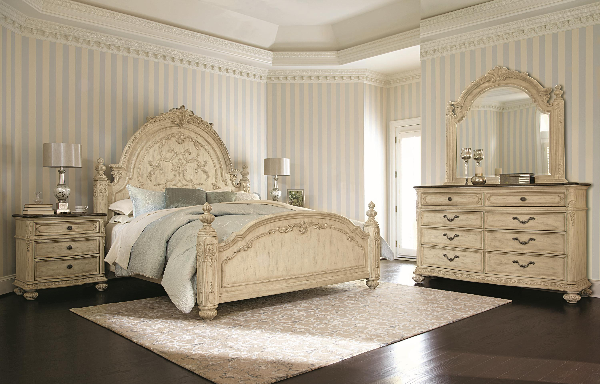 Jessica Mcclintock The Boutique White Bedroom Set American Drew Furniture