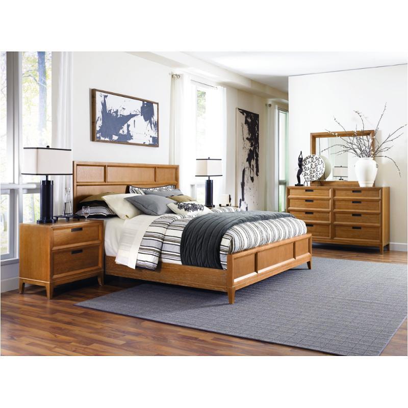 081 313 American Drew Furniture Sedona Bedroom Queen Panel Bed