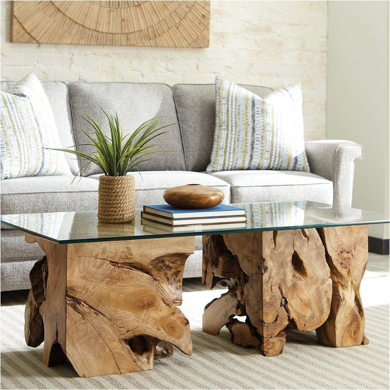 090 1015r Hammary Furniture Square Root, Square Living Room Table