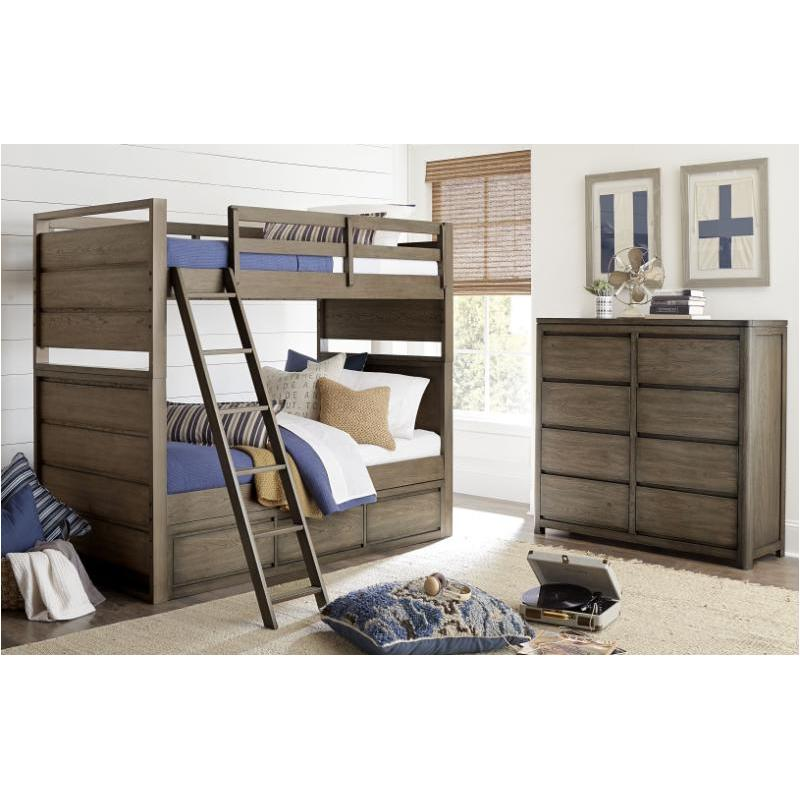 6810 8134 Legacy Classic Furniture Twin Over Full Bunk Bed