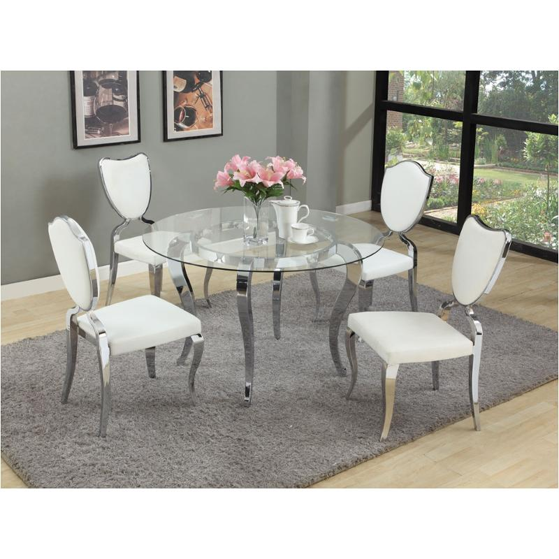 Letty Gl48 T Chintaly Imports Furniture Letty Dinette Table