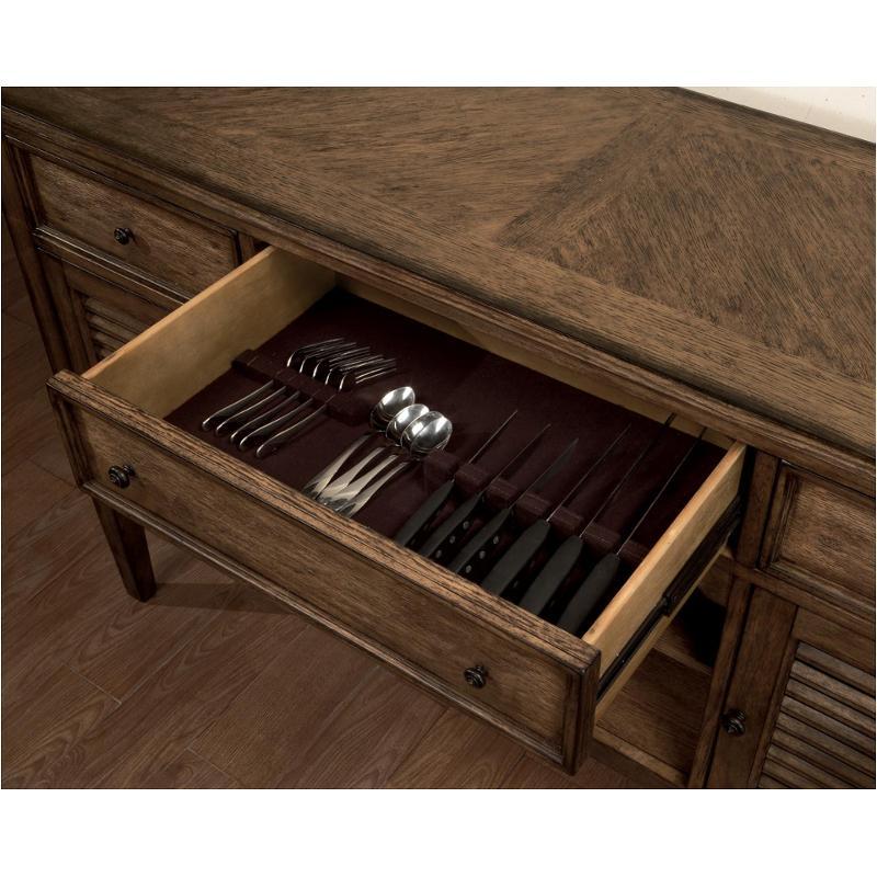 6641 251 Flexsteel Wynwood Furniture Newberry Sideboard