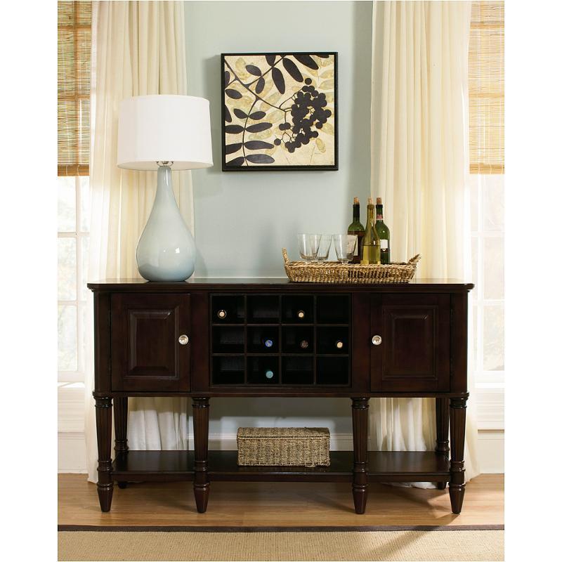 1724 25 Flexsteel Wynwood Furniture Sideboard Dark Chocolate