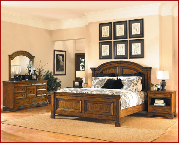 Centennial Bedroom Set Aspen Home Furniture