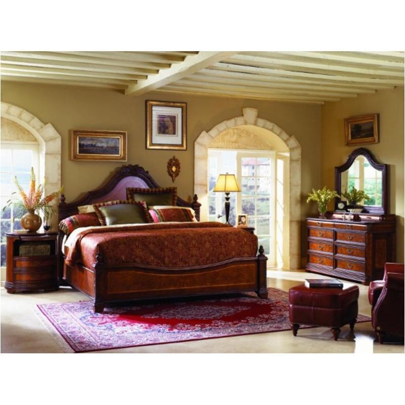 I74 445 Aspen Home Furniture Napa Bedroom King Poster Bed Fb