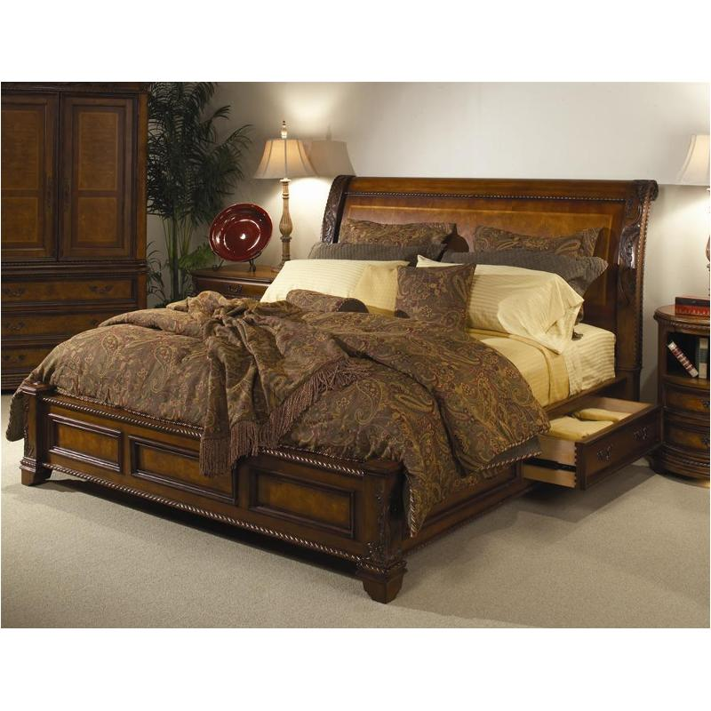 I74 400 St Aspen Home Furniture Napa Bedroom Queen Storage Bed