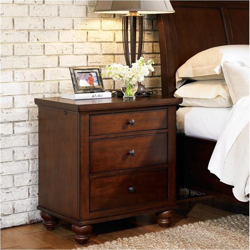 Icb 450 Bch 3 Aspen Home Furniture Liv360 Nightstand Brown Cherry