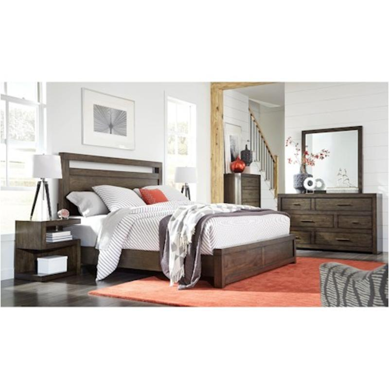 Iml-15-brn Aspen Home Furniture Modern Loft Queen Panel Bed