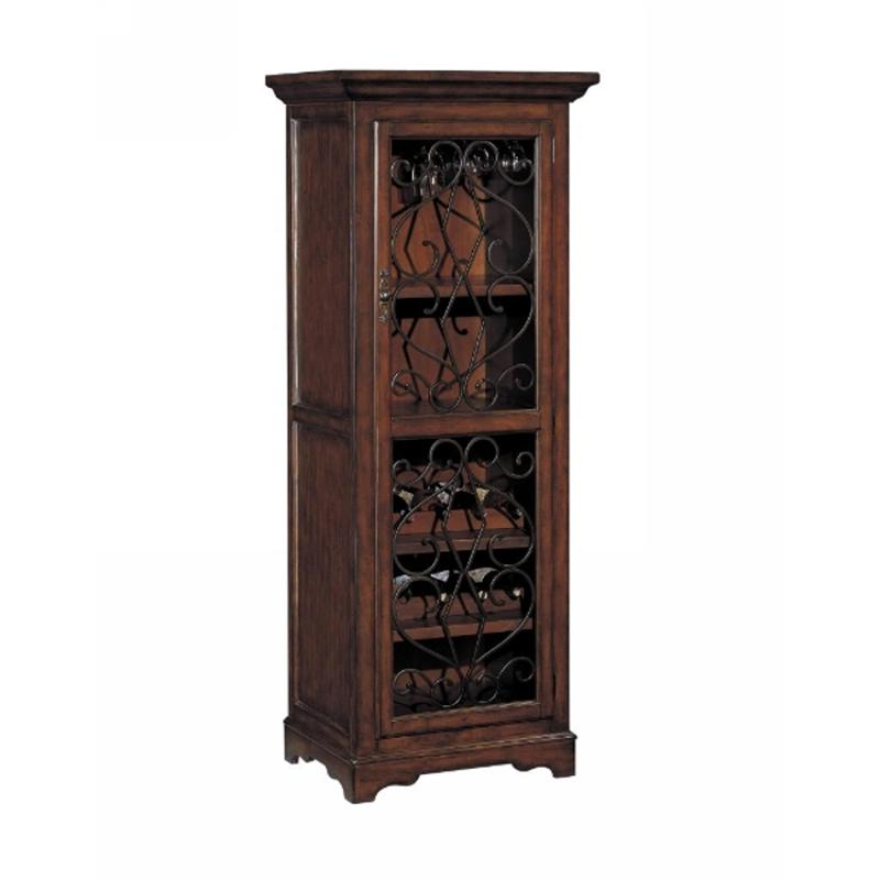 Tall Bar Cabinet 1dr Wrought Iron, Wrought Iron China Cabinet