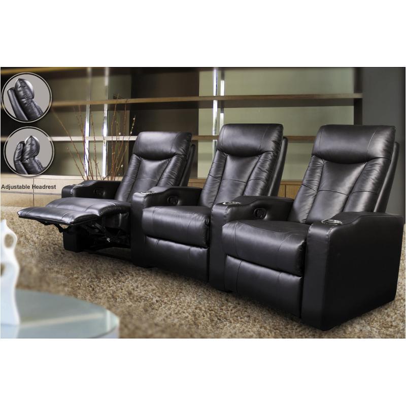 600130 3 Coaster Furniture Seated, Theatre Room Furniture