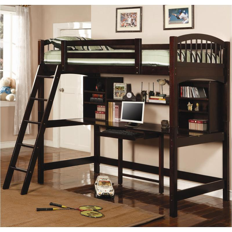 Kids Room Twin Workstation Bunk Bed, Coaster Fine Furniture Assembly Instructions