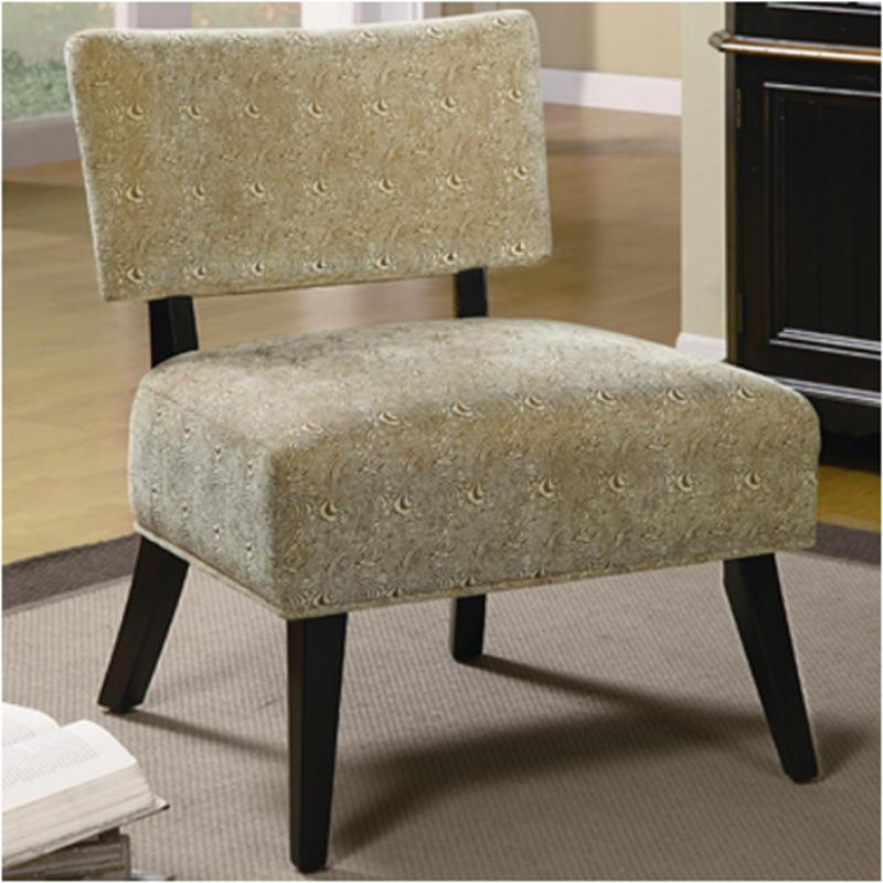 Accent Chair With Swirl Bottom: 460504 Coaster Furniture Accent Accent Chair Chair