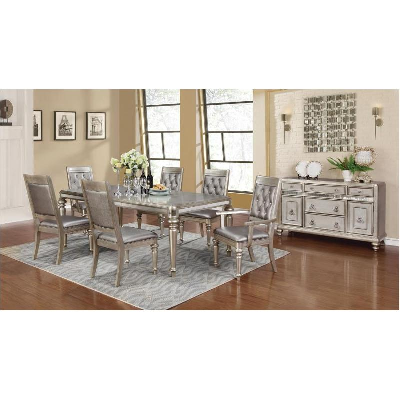 Bling 7 Pc Dining Table Set