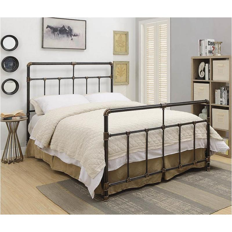 300735q Coaster Furniture Silas Bedroom, Queen Bed With Headboard And Footboard