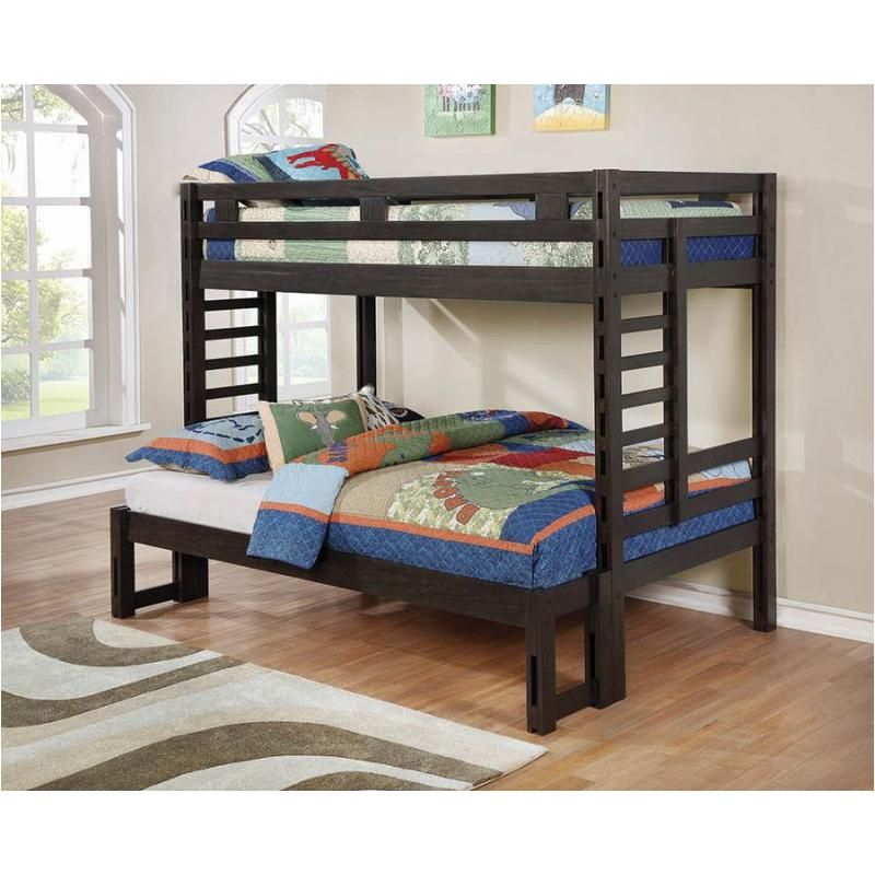461151 Coaster Furniture Hilshire Kids Room Twin Full Bunk Bed