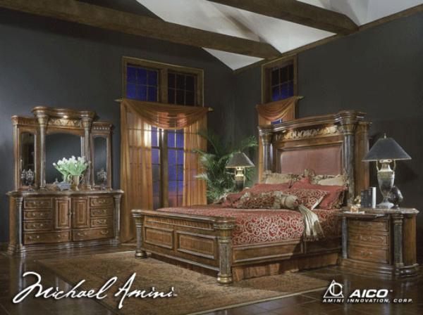Torino Bedroom Set Aico Furniture