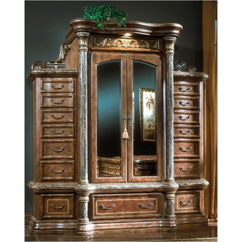 56070 25 Aico Furniture Torino Bedroom Haberdasher Chest