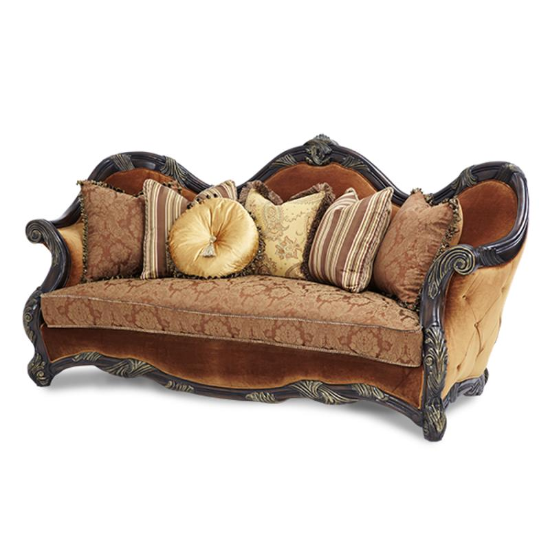 Aico Furniture Es Manor Wood Trim Sofa