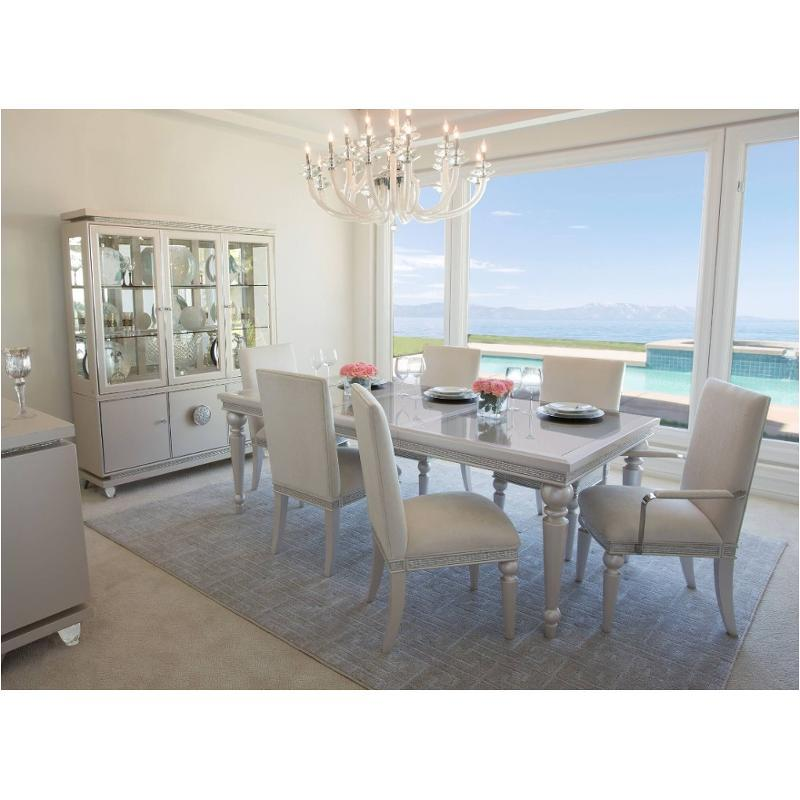 9011000t 111 Aico Furniture Glimmering Heights Dining Table