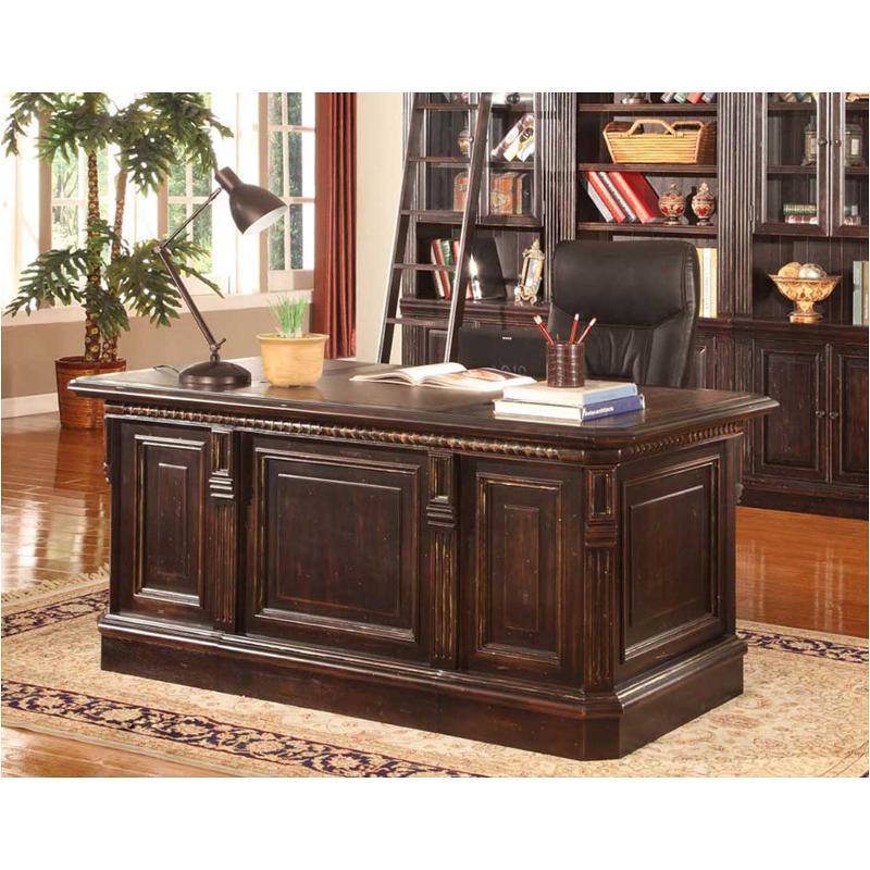 Double Pedestal Executive Desk, Parker House Office Furniture