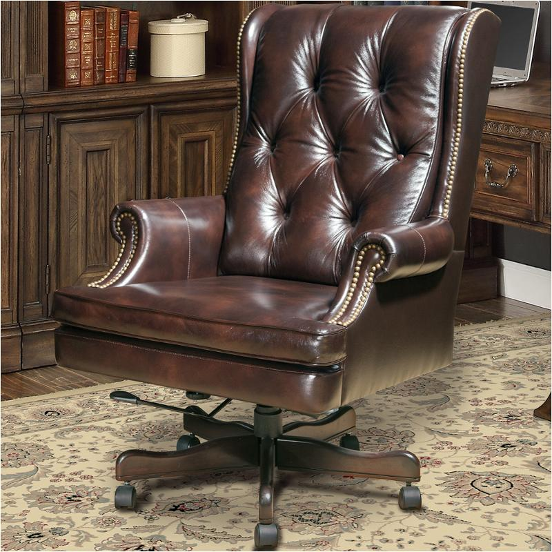 Dc112 Ha Parker House Furniture Desk Chairs Leather Desk Chai