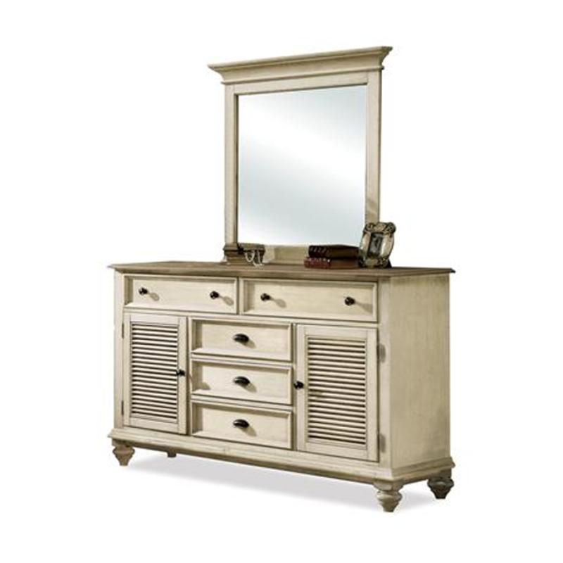 32561 Riverside Furniture Coventry Two Tone Bedroom Mirror