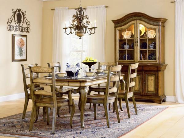 Vineyard Dining Set Furniture, Vineyard Dining Room Furniture