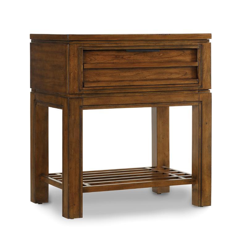 1043 91116 Hooker Furniture Chatham One Drawer Leg Nightstand