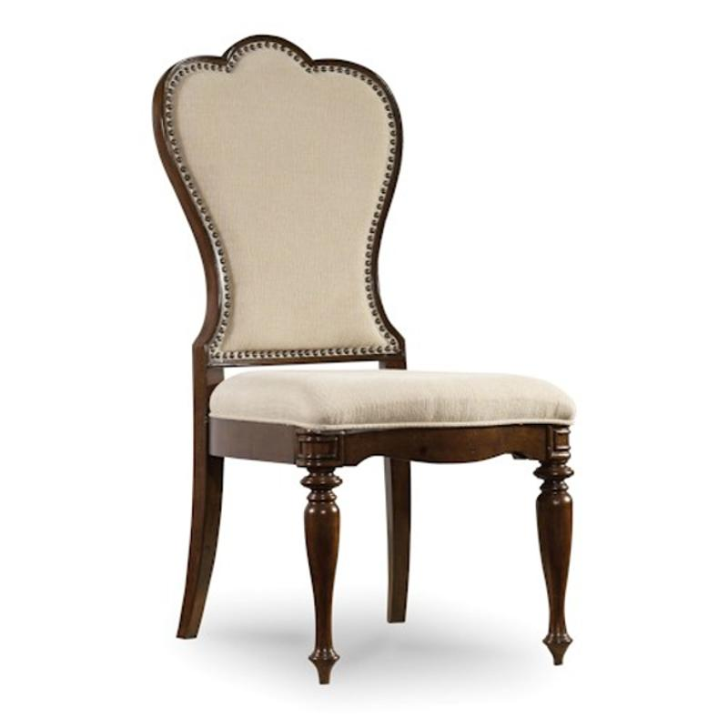 5381 75410 Hooker Furniture Leesburg Upholstered Side Chair