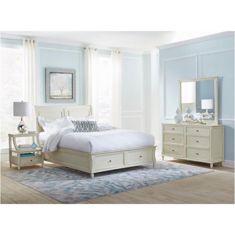 10-10 Jofran Furniture Avignon - Ivory Queen Panel Bed