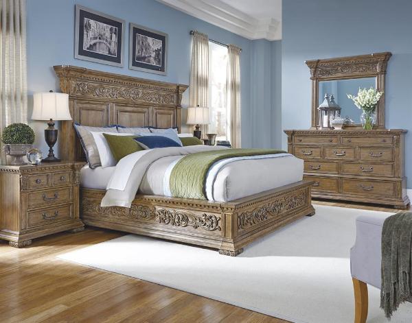 Stratton Bedroom Set Pulaski Furniture
