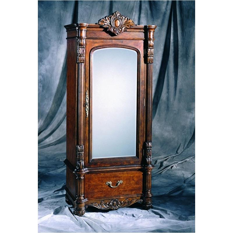 242123 pulaski furniture edwardian bedroom small armoire