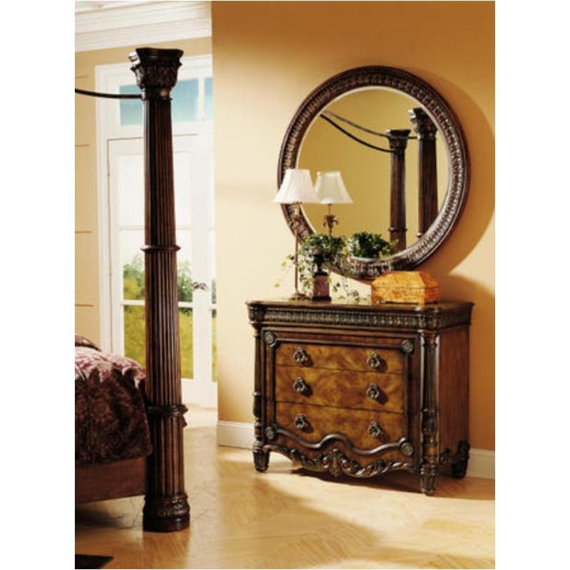 255111 Pulaski Furniture Salerno Bedroom Round Mirror