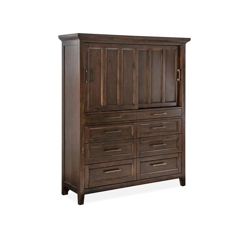 B4993 13 Magnussen Home Furniture Hamlin Park Sliding Door Chest