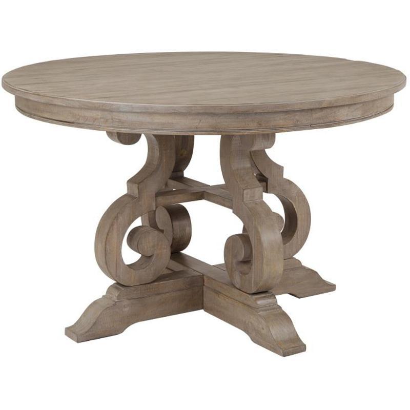 D4646 22t Magnussen Home Furniture 48, 48 Inch Round Kitchen Table