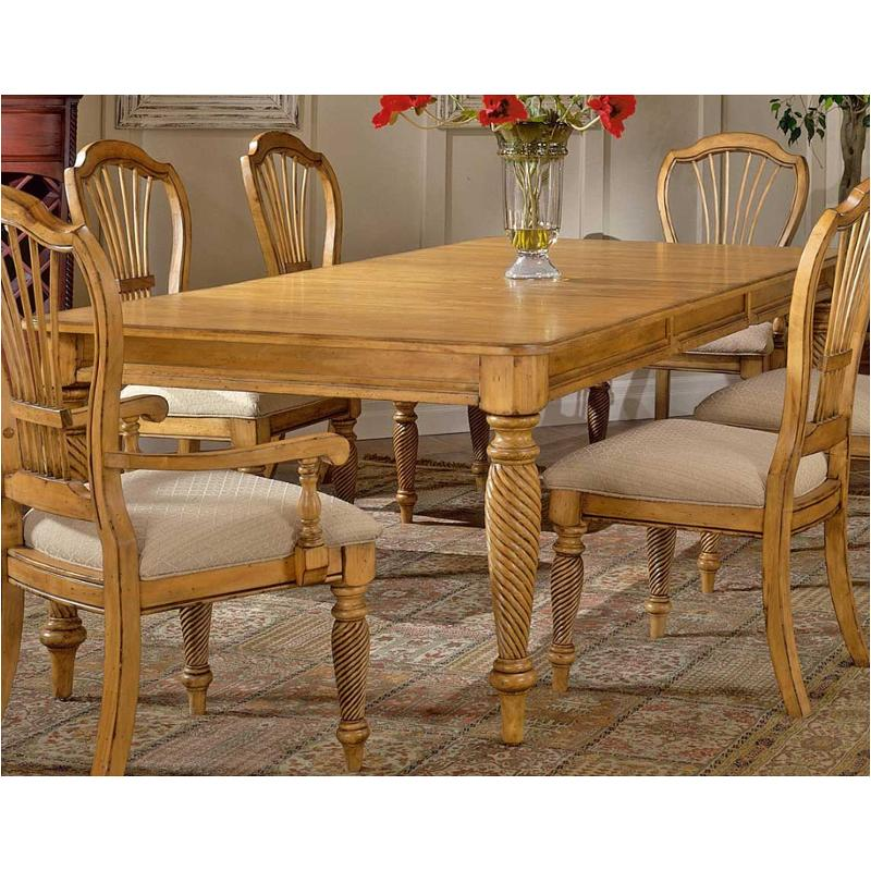 4507 819 Hilale Furniture Wilshire, Pine Dining Room Table And Chairs