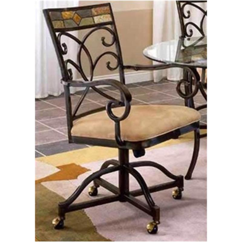 4442 806 Hilale Furniture Pompei, Dining Room Chairs With Casters