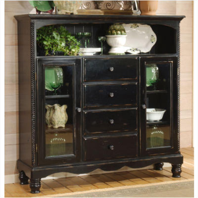 4509 854 Hillsdale Furniture Wilshire Rubbed Black Stand