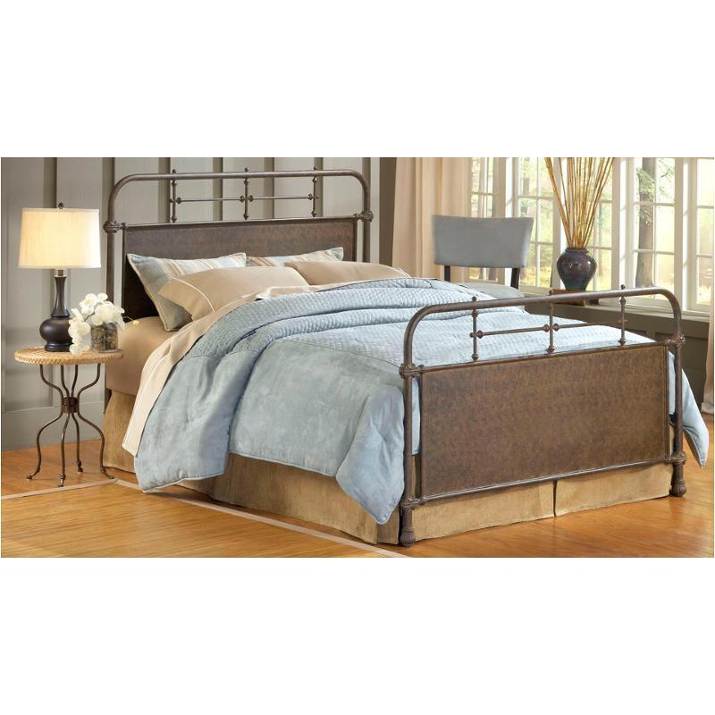 1502 460 Hillsdale Furniture Full Bed Set Old Rust