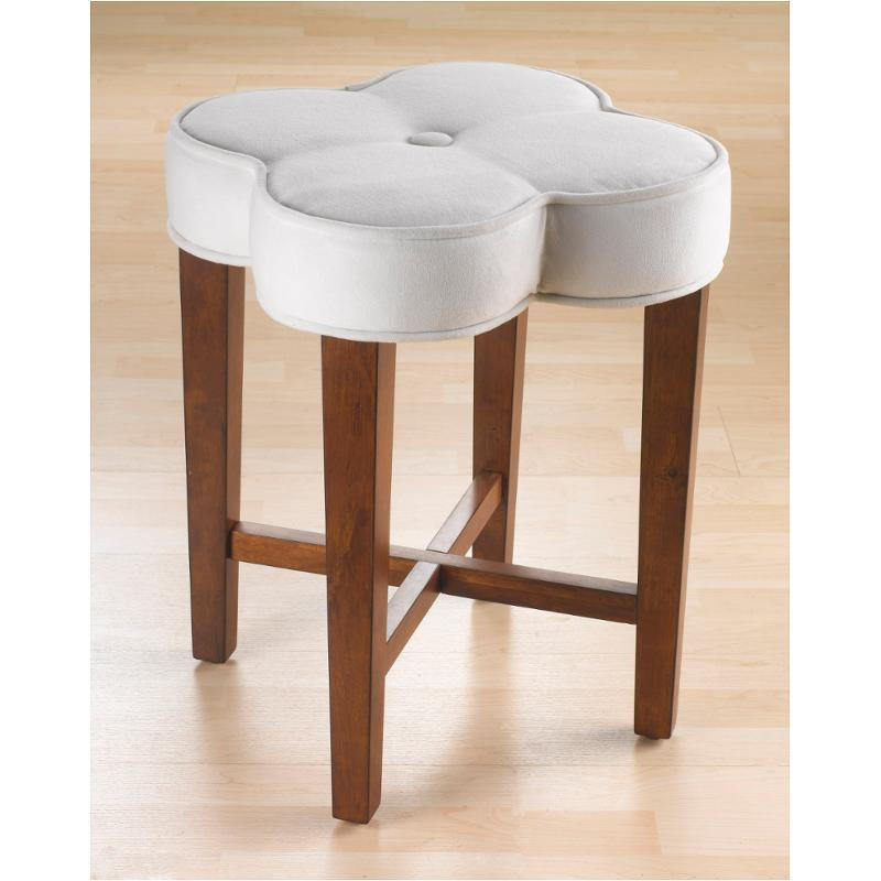 50958 Hillsdale Furniture Clover Bathroom Vanity Stool