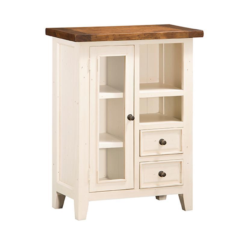 13-13w Hillsdale Furniture Tuscan Retreat Coffee Cabinet - Metal Runner