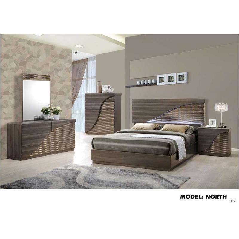 North Zg D Global Furniture Dresser Zebra Wood Gold Line