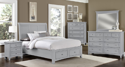 Discount Vaughan Bassett Furniture Bonanza Grey Collection