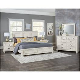 Vaughan Bassett Furniture Timber Creek Distressed White Bedroom